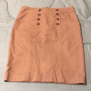 Brown formal pencil skirt from banana republic